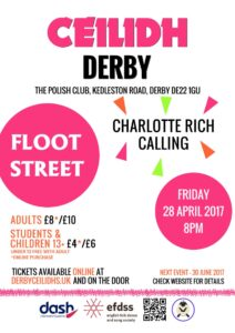 Image of the Floot Street ceilidh poster